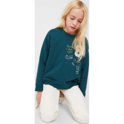 Mango Kids - Jeansy dziecięce Petra 110-164 cm. Białe jeansy dziewczęce Mango Kids, z bawełny. W wyprzedaży za 39,90 zł.