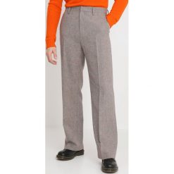 Joggery męskie: Hope WIDE TROUSER Spodnie materiałowe beige check