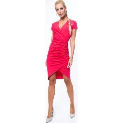 Sukienki: Koral Kopertowa Sukienka 3381
