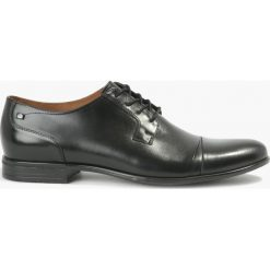 Półbuty czarne Salvatore. Czarne buty wizytowe męskie Badura. Za 239,99 zł.
