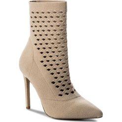 Botki ALDO - Seassi 51926321 32. Brązowe buty zimowe damskie ALDO, z materiału, na obcasie. W wyprzedaży za 309,00 zł.