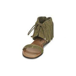 Sandały Minnetonka  HAVANA. Zielone sandały damskie Minnetonka. Za 320,22 zł.