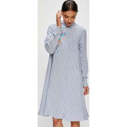 U.S. Polo - Sukienka. Szare sukienki mini marki U.S. Polo, na co dzień, s, z nadrukiem, z tkaniny, casualowe, polo, rozkloszowane. W wyprzedaży za 449,90 zł.