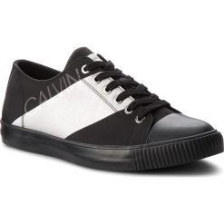 Trampki CALVIN KLEIN JEANS - Antonio SE8590  Black/Silver. Czarne trampki męskie marki Calvin Klein Jeans, z gumy. Za 519,00 zł.