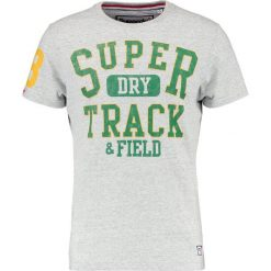 T-shirty męskie z nadrukiem: Superdry TRACKSTER TEE Tshirt z nadrukiem stadium silver marl
