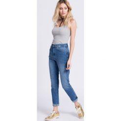 Pepe Jeans - Jeansy Betty 82. Niebieskie jeansy damskie rurki Pepe Jeans, z bawełny, z podwyższonym stanem. W wyprzedaży za 199,90 zł.