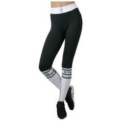 GymHero Spodnie damskie Leggins Hero czarne r. L. Spodnie dresowe damskie Gymhero, l. Za 144,09 zł.