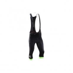Spodenki 3/4 na rower MTB XC. Czarne odzież rowerowa męska marki ROCKRIDER, z elastanu, sportowe. Za 139,99 zł.