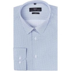 Koszula SIMONE KDWS000207. Szare koszule męskie na spinki marki House, l, z bawełny. Za 199,00 zł.