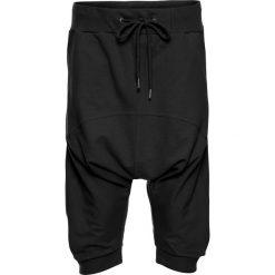 Spodnie dresowe damskie: Sportowe rybaczki haremki bonprix czarny