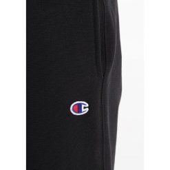 Spodnie dresowe męskie: Champion Reverse Weave STRAIGHT WEAVE TRACK PANTS Spodnie treningowe black