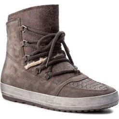 Botki GABOR - 56.438.31 Elephant. Szare buty zimowe damskie Gabor, ze skóry ekologicznej. W wyprzedaży za 319,00 zł.
