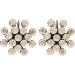 Biżuteria i zegarki: Konplott MAGIC FIREBALL Kolczyki beige crystal