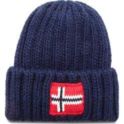 Czapka NAPAPIJRI - K Semiury 2 N0YID2 Blu Marine 176. Niebieskie czapki zimowe damskie marki Napapijri, z materiału, marine. Za 169,00 zł.