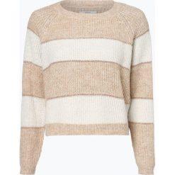 ONLY - Sweter damski – Malone, szary. Czarne swetry klasyczne damskie marki ONLY, l, z materiału, z kapturem. Za 129,95 zł.