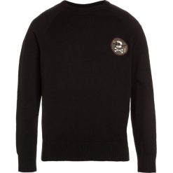 Swetry chłopięce: DC Shoes SABOTAGE RAGLAN Sweter black