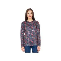 Bluza M541 Wzór 59. Szare bluzy damskie marki FIGL, m, z bawełny, eleganckie, z asymetrycznym kołnierzem, z długim rękawem. Za 149,00 zł.