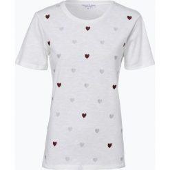 Marie Lund - T-shirt damski, beżowy. Brązowe t-shirty damskie Marie Lund, s, z haftami, z bawełny. Za 59,95 zł.