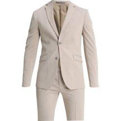 Pier One Garnitur mottled beige. Brązowe garnitury marki Pier One, z elastanu. Za 419,00 zł.
