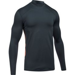 Under Armour Koszulka męska ColdGear® Reactor Fitted czarno-pomarańczowa r. L (1298251-008). Szare koszulki sportowe męskie marki Under Armour, l, z elastanu. Za 179,99 zł.