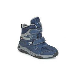 Śniegowce Dziecko Kangaroos  JOOS V RTX. Niebieskie buty zimowe chłopięce KangaROOS. Za 259,00 zł.