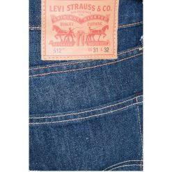 Levi's - Jeansy 512. Niebieskie jeansy męskie slim marki House, z jeansu. W wyprzedaży za 219,90 zł.