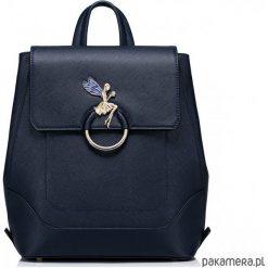 Plecaki damskie: Pojemny dziewczęcy plecak z wróżką