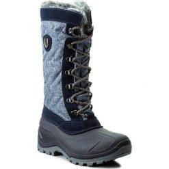 Śniegowce CMP - Nietos Wmn 3Q47966 Denim Mel. L552. Niebieskie śniegowce damskie CMP, z denimu. W wyprzedaży za 209,00 zł.