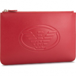 Torebka EMPORIO ARMANI - Y3H093 YH18A 80003 Red 80003. Czerwone torebki klasyczne damskie Emporio Armani, ze skóry ekologicznej. Za 439,00 zł.