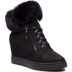 Sneakersy KAZAR - Izyda 34035-S9-00 Black. Białe sneakersy damskie marki Kazar, ze skóry, na wysokim obcasie, na szpilce. Za 499,00 zł.
