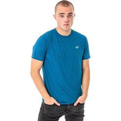 4f Koszulka męska H4L18-TSMF002 niebieska r. M. Niebieskie koszulki sportowe męskie 4f, l. Za 50,90 zł.