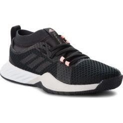 Buty adidas - CrazyTrain Pro 3.0 W DA8957 Cblack/Cblack/Carbon. Niebieskie buty do fitnessu damskie marki Salomon, z gore-texu, na sznurówki, gore-tex. W wyprzedaży za 279,00 zł.