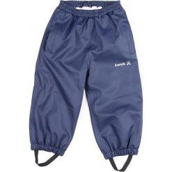 Spodnie niemowlęce: Spodnie przeciwdeszczowe w kolorze niebieskim