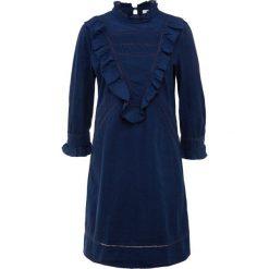 BOSS CASUAL EVANGELA Sukienka letnia open blue. Niebieskie sukienki letnie BOSS Casual, na co dzień, z bawełny, casualowe. Za 839,00 zł.