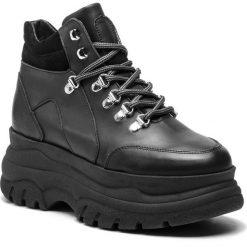 Sneakersy EVA MINGE - Asegur 4A 18PM1372669EF 601. Czarne sneakersy damskie Eva Minge, z nubiku. W wyprzedaży za 309,00 zł.