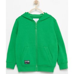 Bluza z kapturem - Zielony. Zielone bluzy chłopięce rozpinane marki Reserved, m, z kapturem. Za 24,99 zł.