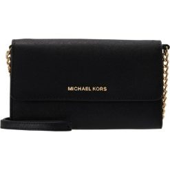 MICHAEL Michael Kors JET SET TRAVEL  Torba na ramię black. Czarne portfele damskie marki MICHAEL Michael Kors. Za 659,00 zł.