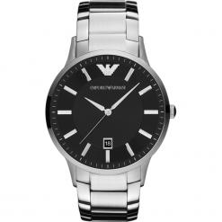 Zegarek EMPORIO ARMANI - Renato AR2457  Silver/Silver. Szare zegarki męskie marki Emporio Armani, l, z nadrukiem, z bawełny, z okrągłym kołnierzem. Za 1059,00 zł.