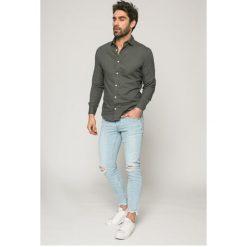 Only & Sons - Jeansy BLEACH LOOM. Niebieskie jeansy męskie slim marki Only & Sons, z bawełny. W wyprzedaży za 179,90 zł.