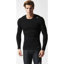 KOSZULKA - DL.REKAW BLACK TF BASE LS. Czarne odzież termoaktywna męska Adidas, na wiosnę, m, z elastanu. Za 89,99 zł.