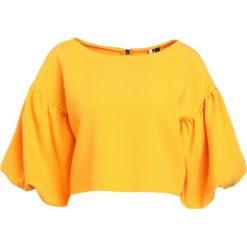Bluzki damskie: Topshop STRUCTRED Bluzka orange