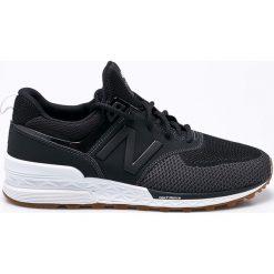New Balance - Buty MS574EMK. Czarne buty fitness męskie marki New Balance. W wyprzedaży za 399,90 zł.