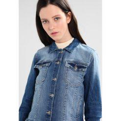 Bomberki damskie: b.young PULLY JACKET Kurtka jeansowa medium blue