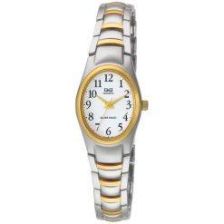 Zegarki damskie: Zegarek Q&Q Damski F279-404 Biżuteryjny srebrny