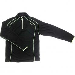 Bluza polarowa w kolorze czarnym. Czarne bluzy chłopięce rozpinane Hulabalu, z polaru, z krótkim rękawem, krótkie. W wyprzedaży za 59,95 zł.