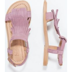 Bisgaard Sandały syren. Fioletowe sandały chłopięce marki Bisgaard, z materiału, z otwartym noskiem. W wyprzedaży za 237,30 zł.