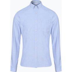 Marc O'Polo Denim - Koszula męska, czarny. Szare koszule męskie marki Polo Ralph Lauren, l, z bawełny, button down, z długim rękawem. Za 199,95 zł.