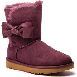 Buty UGG - W Daelynn 1019983  W/Port. Szare buty zimowe damskie marki Ugg, z materiału, z okrągłym noskiem. Za 969,00 zł.