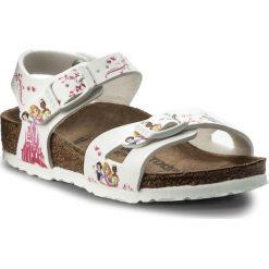 Sandały dziewczęce: Sandały BIRKENSTOCK – Rio Kids 1008656 Disney Princess White