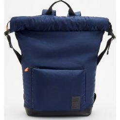 Plecaki męskie: Plecak jednokomorowy - Granatowy